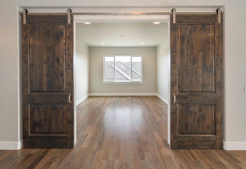 portes coulissantes doubles