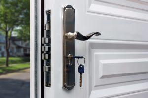 Serrure sécurité porte d'entrée