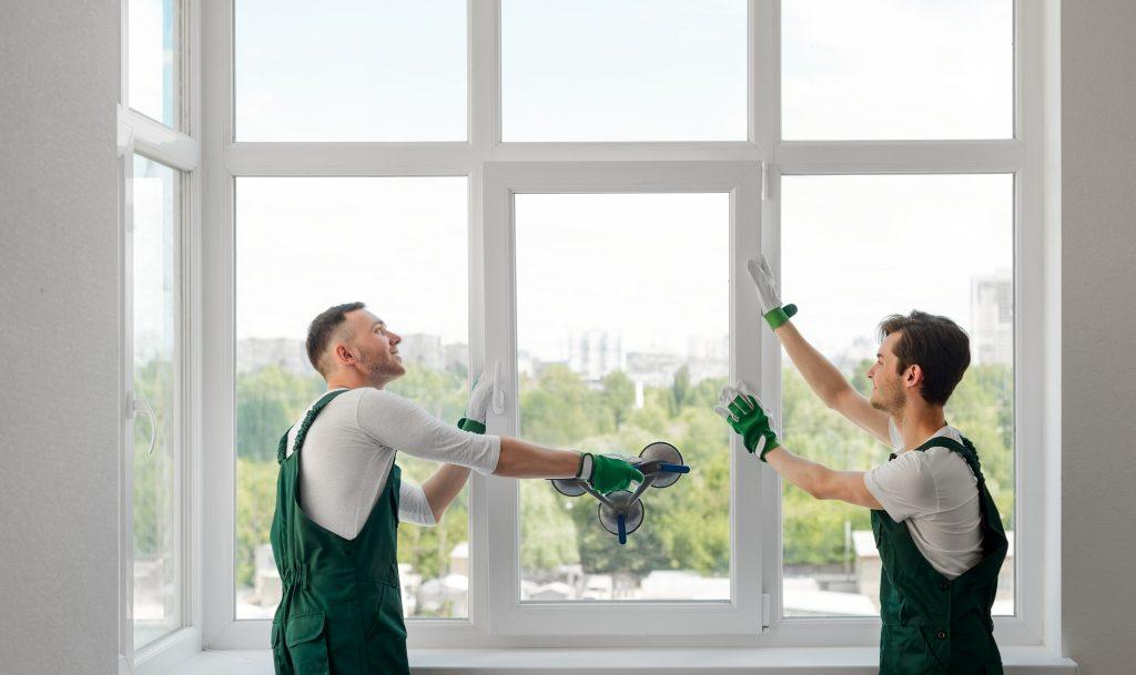 installation de nouvelles fenêtres